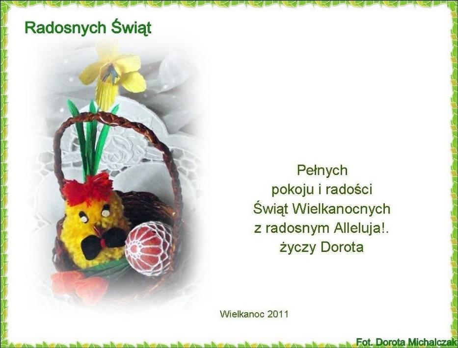 Moja kartka z życzeniami - dla Was