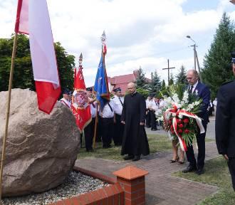 """Gmina Szczerców. Uroczystości 99. rocznicy """"Cudu nad Wisłą"""" [ZDJĘCIA]"""