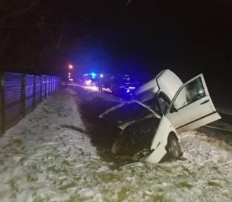 Wypadek na drodze z Szadku do Choszczewa