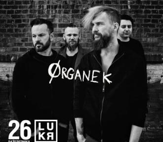26 października ORGANEK wystąpi na koncertowej scenie LUKR w Rzeszowie