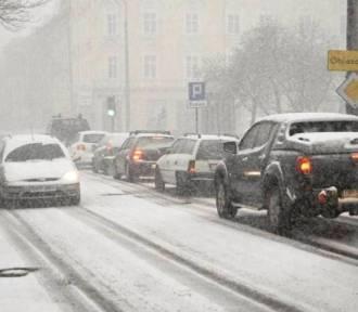 Dziś intensywne opady śniegu na Opolszczyźnie!