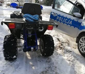 Uciekał quadem przed policją - nieletni, bez ubezpieczenia i dopuszczenia do ruchu
