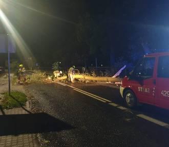 Niż Tim przeszedł przez Bydgoszcz i okolice. Wichura połamała drzewa [zdjęcia]
