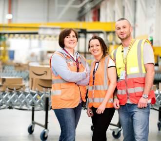 Amazon zapewnia bezpieczeństwo pracownikom