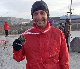 Gdynianin zajął drugie miejsce w polarnym maratonie!