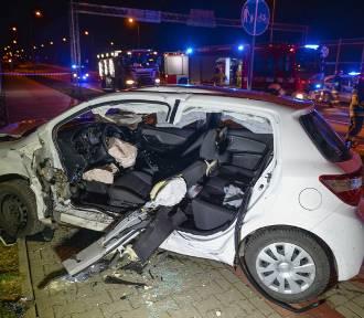 Wypadek na obwodnicy Przemyśla. Sąranni [ZDJĘCIA]