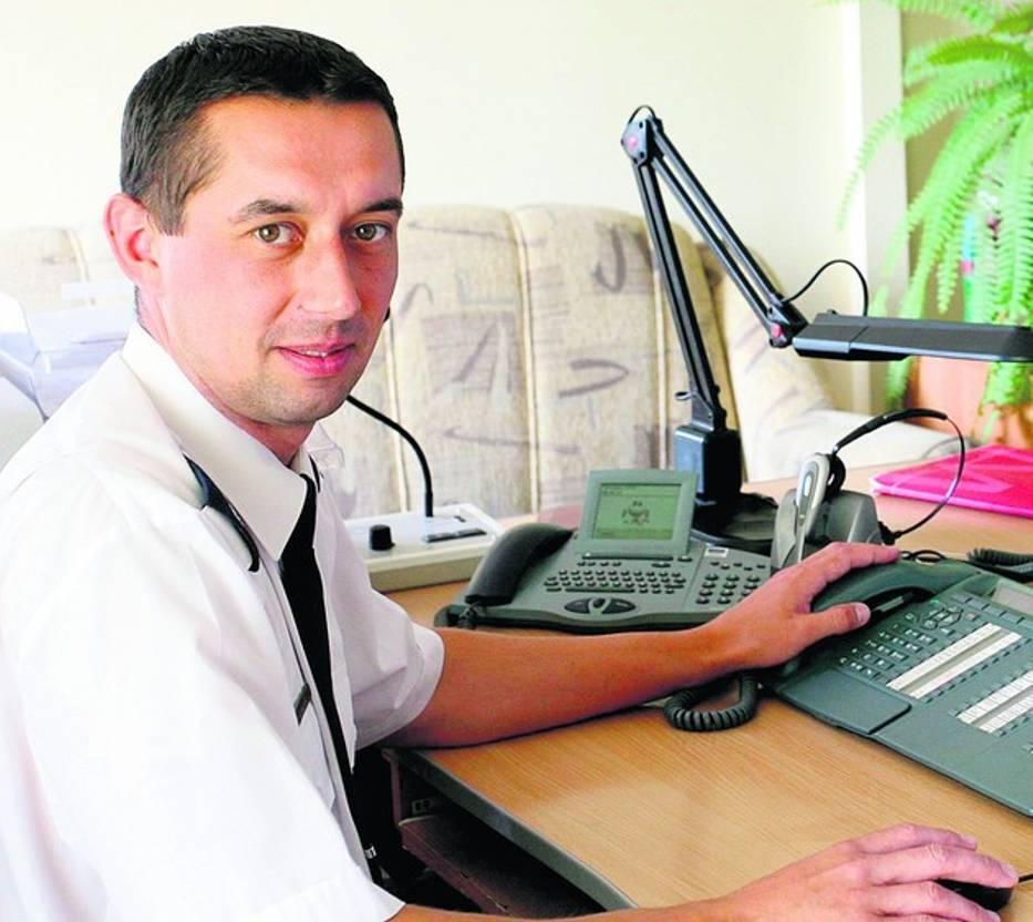 Komisarz Krzysztof Tatys święta spędzi w pracy