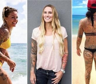 Tatuaże sportsmenek ZDJĘCIA