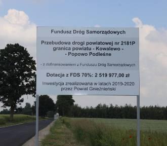 5,5 kilometra nowej drogi w gminie Mieleszyn
