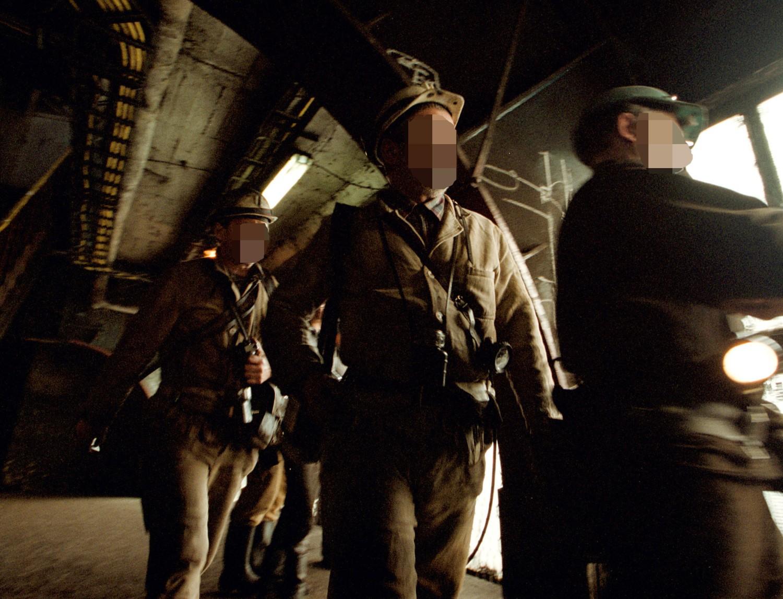 Praca w kopalni