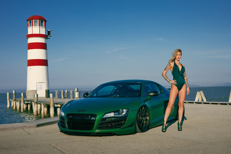 Styczeń 2020. Audi R8