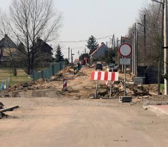 Remont ulicy Szczytnickiej, drugi etap [ZDJĘCIA]