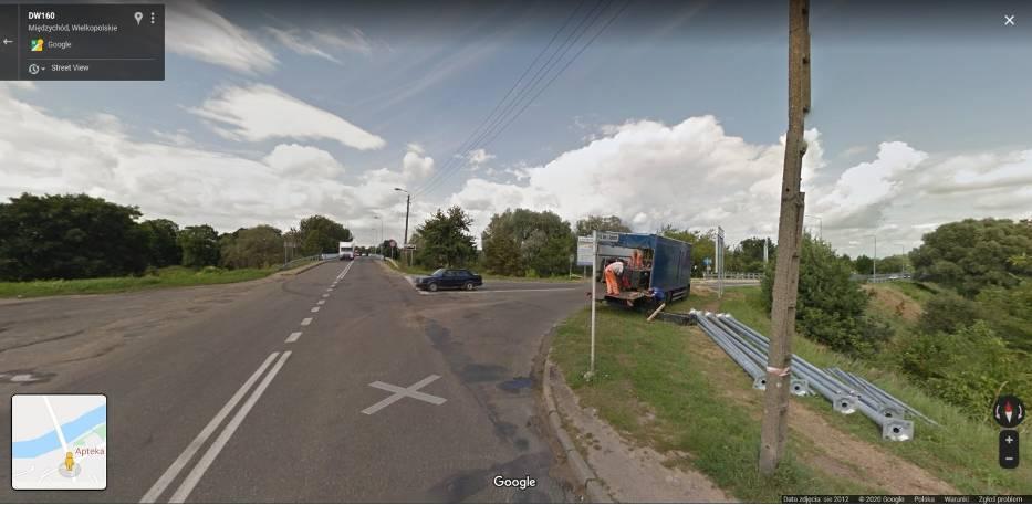 Międzychód w Google Street View. Zobacz, jak się zmieniło miasto