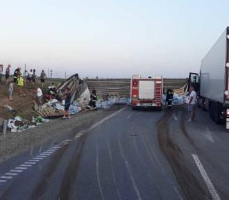 Kierowcy utrudniali strażakom dojazd do wypadku!