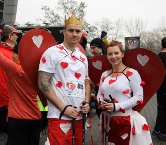 Bieg Walentynkowy 2017 w Dąbrowie Górniczej