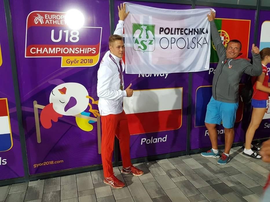 Talent Roku: Marek Mucha (AZS Politechnika Opolska, lekkoatletyka)