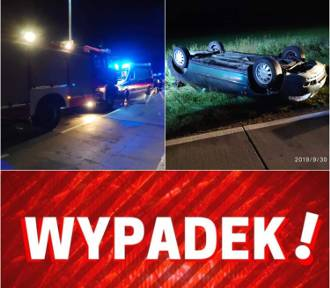Wypadek na drodze przez łąki (30.09.2019)| NADMORSKA KRONIKA POLICYJNA