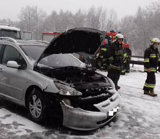 Wypadek na autostradzie A4 w Zabrzu. Ogromne utrudnienia
