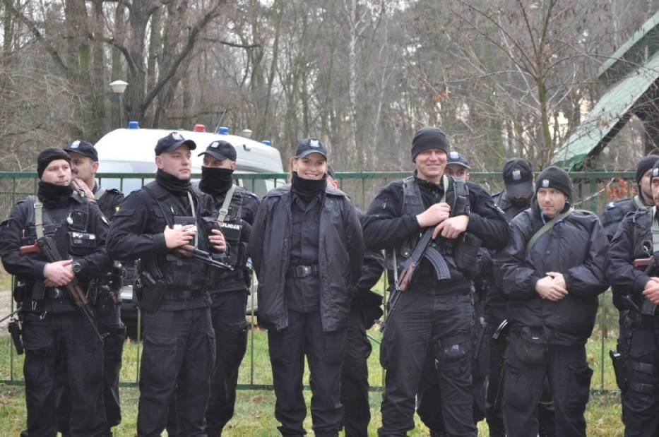 Policja w Kaliszu ścigała sprawców napadu. Na szczęście to tylko ćwiczenia