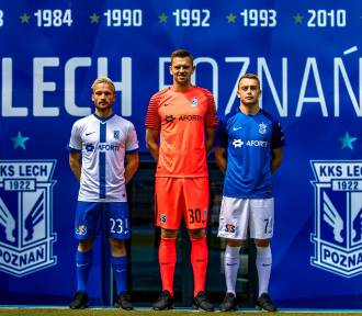 Aforti nowym sponsorem Lecha Poznań. Zobacz nowe koszulki meczowe! [ZDJĘCIA]