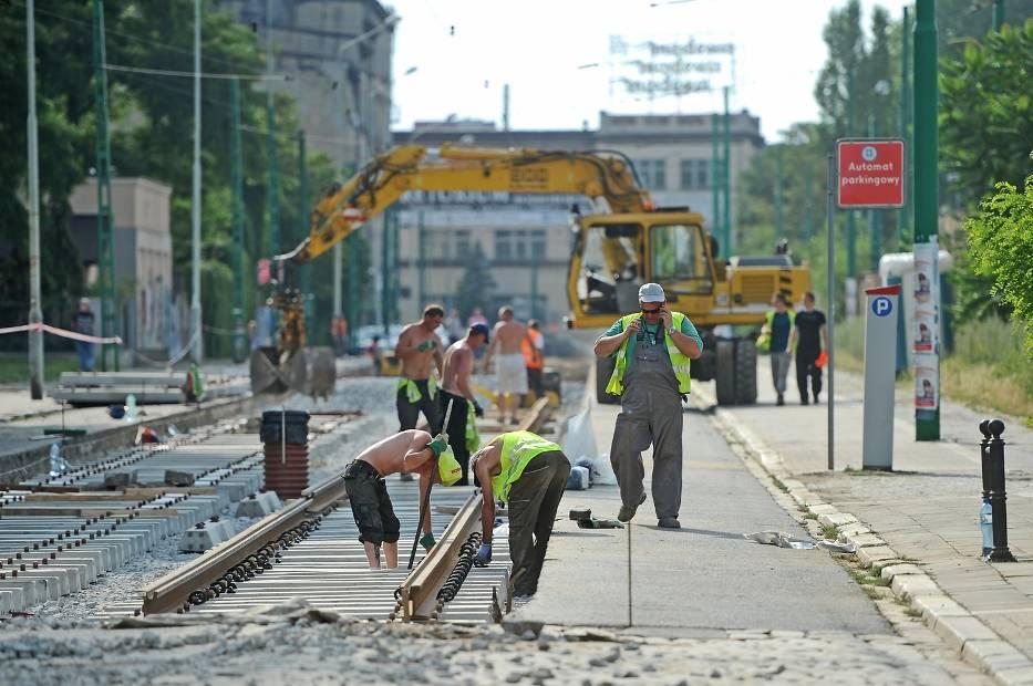 MPK Poznań: Remont torowiska na Zwierzynieckiej