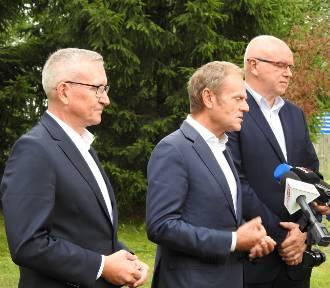 Donald Tusk w Sejnach. Mówił o pograniczu i rosnącym długu