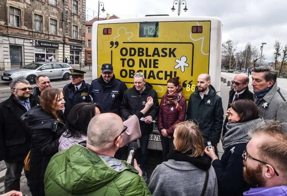 Zrozum i zapamiętaj: odblask to nie obciach! W Bydgoszczy rusza akcja [zdjęcia]