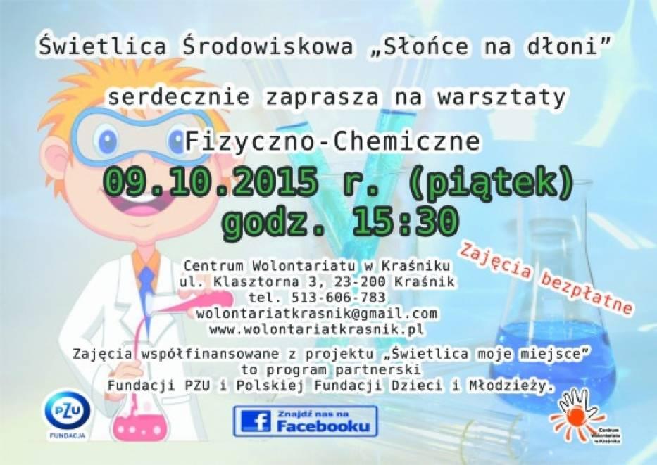 Centrum Wolontariatu w Kraśniku zaprasza na darmowe warsztaty