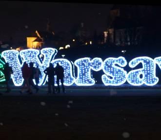 Warszawa gotowa na Święta, a my życzymy Wam Wesołych! [WIDEO]