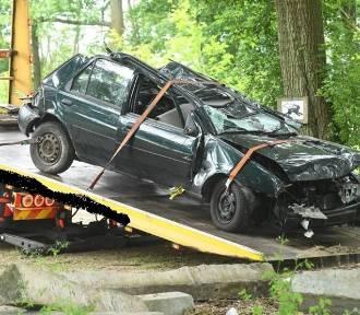 Makabryczny wypadek. Zginęło trzech młodych mężczyzn