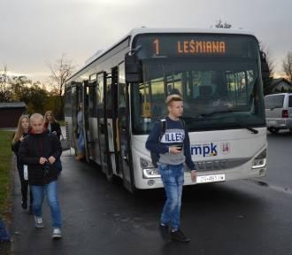 Autobus linii nr 1 wraca na regularną trasę