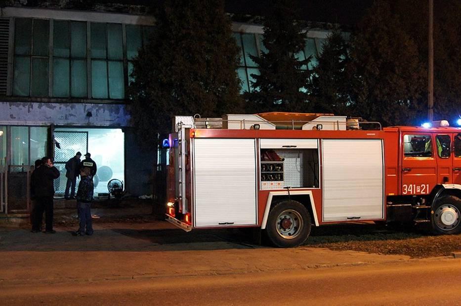 Pożar W Tkalni Kaliskiego Runotexu Zdjęcia Naszemiastopl