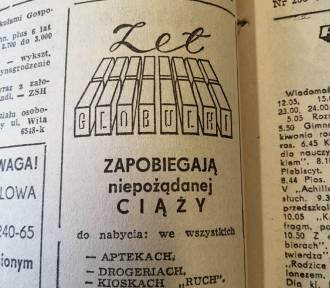 """Zobacz reklamy i ogłoszenia z """"Gazety Robotniczej"""" sprzed 50 lat! (DZIWNE, CIEKAWE)"""