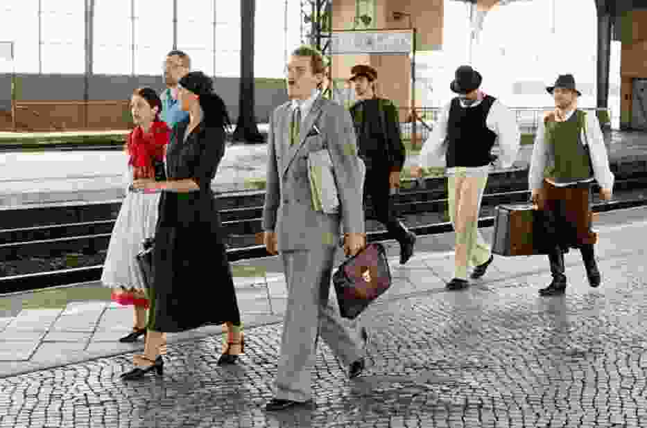 Projekt KRAKÓW-BERLIN-XPRS, w którym udział wzięli artyści z legnickiego teatru, rozpoczął się 11 czerwca o godzinie 7