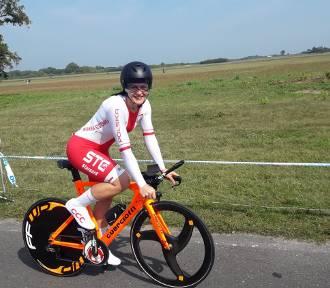Zawodniczka STC na mistrzostwach świata. Na rowerze z prędkością 37,7 km/h