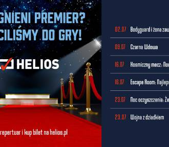 Filmowe lato w kinach Helios!