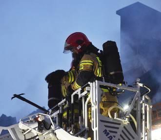 Pożar kamienicy na ul. Lwowskiej. Do remontu jeszcze daleka droga