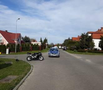 Motocykl zderzył się z osobówką w Świebodzinie