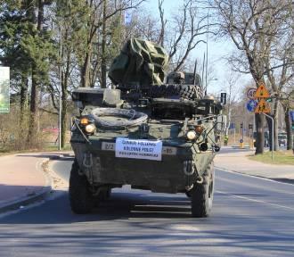 Wojska NATO jadą przez Wielkopolskę [ZOBACZ ZDJĘCIA]