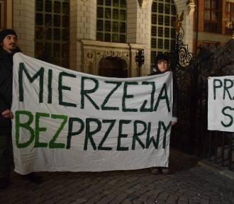 Mierzeja Wiślana. Przeciwnicy przekopu spotkali się na pikiecie w Gdańsku