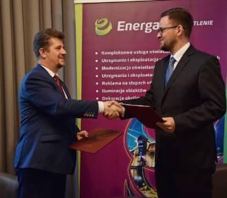 Malbork. Umowa z Energą Oświetlenie pozwoli na doświetlenie przejść dla pieszych, będzie też