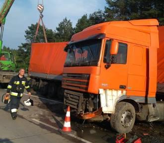 Wypadek i dwie kolizje na drogach powiatu piotrkowskiego