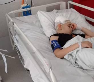 Trwa zbiórka na leczenie i rehabilitację dzieci, które ucierpiały w wypadku w Grabiu
