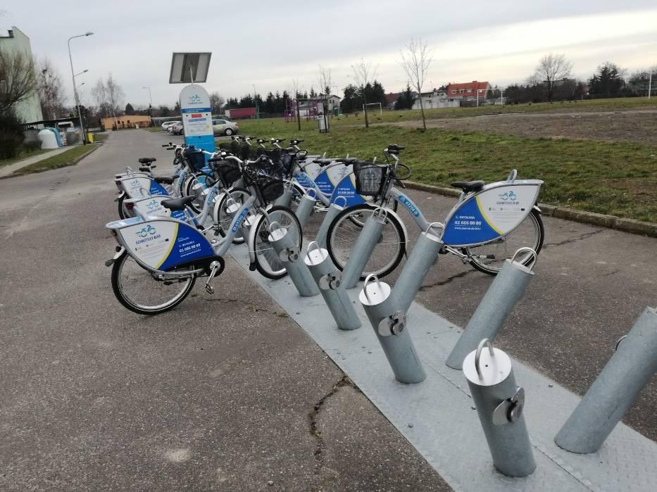 Rowery miejskie w Szamotułach
