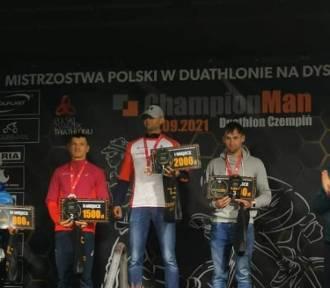 Sierakowianin zajął pierwsze miejsce w Duathlonie 2021 w Czempiniu!