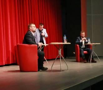 Debata wyborcza Remigiusza Lorenza i Zbigniewa Smejlisa