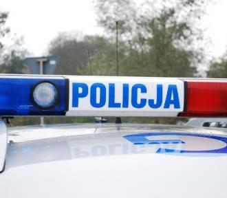 Wypadek na ulicy Krasickiego w Radomsku