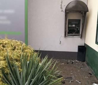 Dwa bankomaty wysadzone jednej nocy. Eksplozje 25 km od siebie