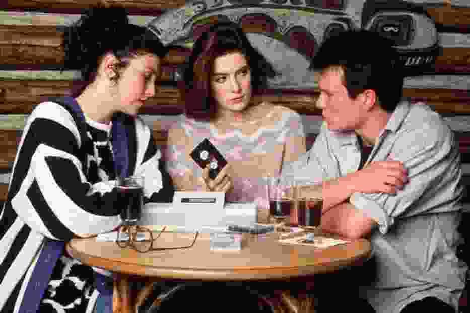 """Kadr z serialu """"Miasteczko Twin Peaks"""""""