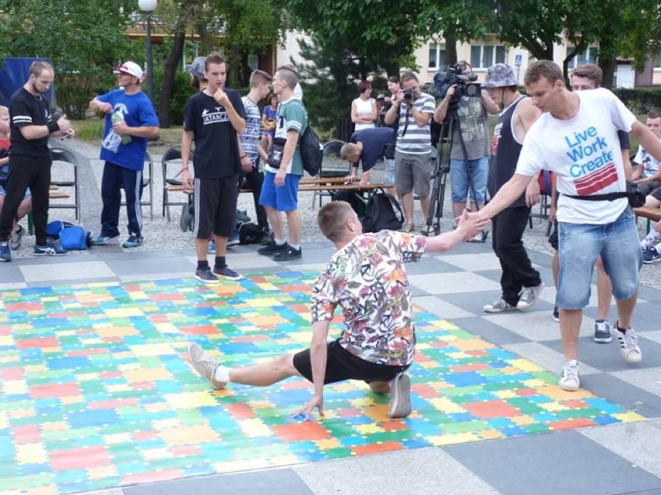 Ogólnopolski Turniej Tańca Break Dance ERSKO CITY B-BOY JAM w Radomsku